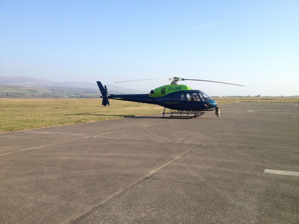 Aerial Survey operations from Airbourne Helicopter Solutions