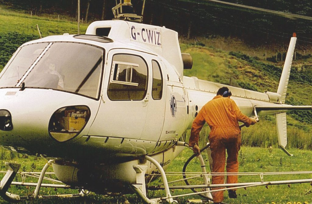 Professional Aerial Spraying Services from Airbourne
